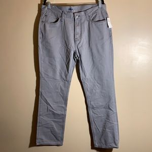 Old Navy Grey Straight Jeans NWT